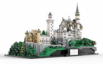 BlueBrixx 05002 Xingbao – Schloss Neuschwanstein mit 7437 Bauelementen. Kompatibel mit Lego. Lieferung in Originalverpackung.