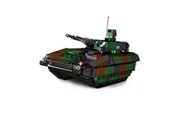 BlueBrixx 06042 Marke Xingbao – Schützenpanzer Puma, Bundeswehr