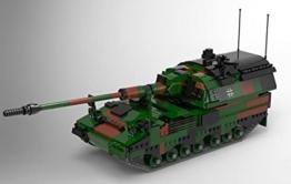 BlueBrixx 06047 Marke Xingbao – Panzerhaubitze 2000, Bundeswehr