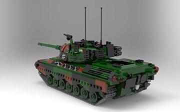 bluebrixx-06049-marke-xingbao-kampfpanzer-leopard-1-bundeswehr-aus-klemmbausteinen-mit-1145-bauelementen-kompatibel-mit-lego-lieferung-in-originalverpackung-2