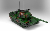 BlueBrixx 06049 Xingbao – Kampfpanzer Leopard 1, Bundeswehr