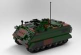 BlueBrixx 06050 Marke Xingbao – MTW M113, Bundeswehr