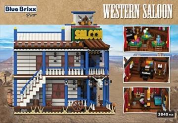 BlueBrixx Pro 103410 Western Saloon