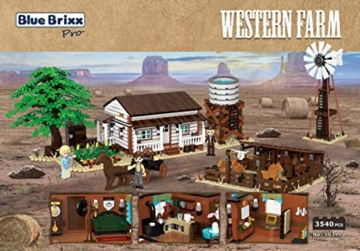 BlueBrixx pro Western Farm 103412 Xingbao