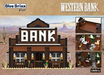 BlueBrixx Pro 103411 Western Bank Rückseite