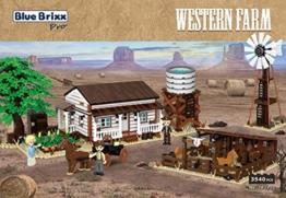 BlueBrixx Western Farm 103412