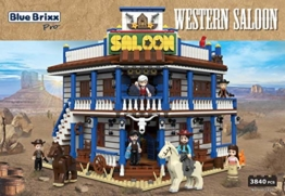 BlueBrixx 103410 Western Saloon