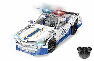 CADA C51006W Polizeiauto Technic Held der Steine