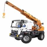 CaDA C51013W Ferngesteuerter Mobiler Technic Kran 2in1