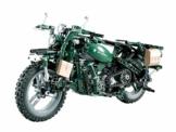 CaDA C51022W Motorisiertes Technik WWII Motorrad