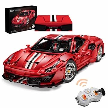 CADA C61042w Red Italien Super Car