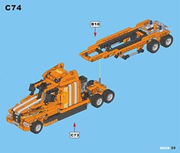 CaDA C71002W Truck Anleitung