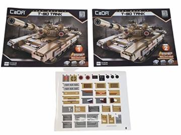 CaDA T-90 Kampfpanzer C61003W Anleitung