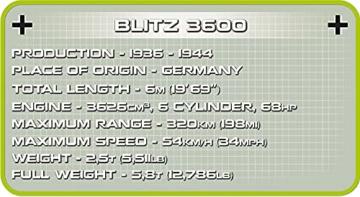 COBI 2254 Blitz 3600 DAK