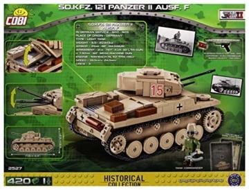 COBI 2527 Panzer 2 SD.KFZ 121 II AUSF. F AfrikaKorps