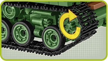 COBI 2533 M4A3E8 Sherman