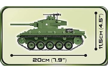 COBI 2543 M24 Chaffee
