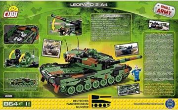 COBI 2618 Leopard 2 A4 Panzermuseum Munster