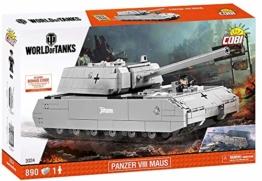COBI 3024 SDKFZ 205 PZKF VII Maus Panzer