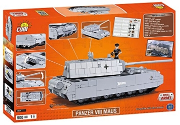 COBI 3024 SDKFZ 205 PZKF VII Maus panzer karton