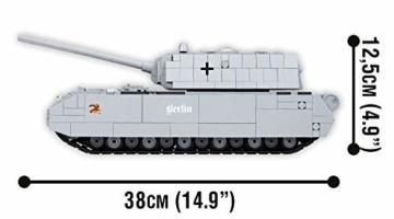 COBI 3024 SDKFZ 205 PZKF VII Maus panzer maße