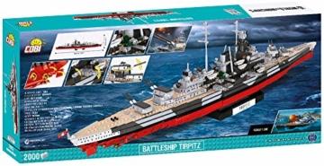 COBI 3085 Battleship Tirpitz box