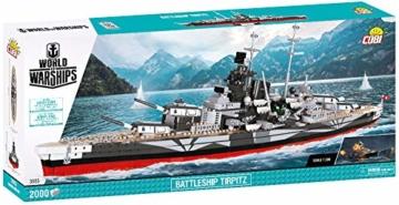 COBI 3085 Battleship Tirpitz karton