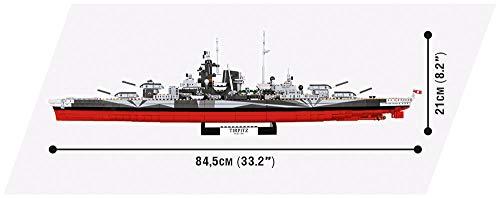 COBI 3085 Battleship Tirpitz maße