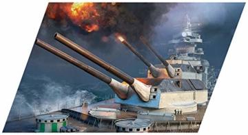 COBI 3085 Battleship Tirpitz world of warships
