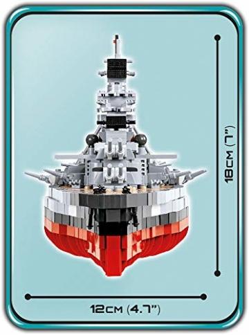 COBI 4819 Bismarck maße