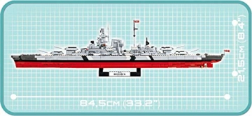COBI 4819 Bismarck seite