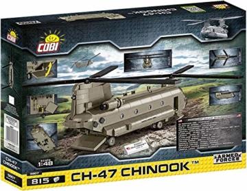 Cobi 5807 Boeing CH-47 Chinook rückseite