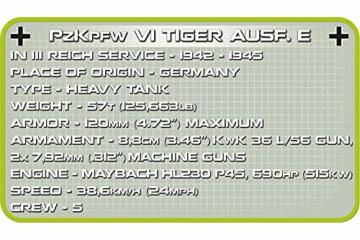 COBI-2538 PzKpfw VI Tiger AUSF. E