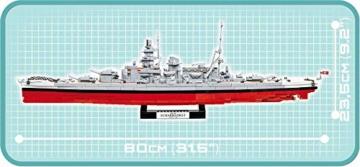 COBI 4818 Schlachtschiff Scharnhorst höhe
