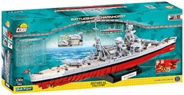COBI 4818 Schlachtschiff Scharnhorst