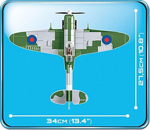 COBI Supermarine Spitfire 5708 maße länge breite höhe