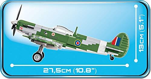 COBI Supermarine Spitfire 5708 maße