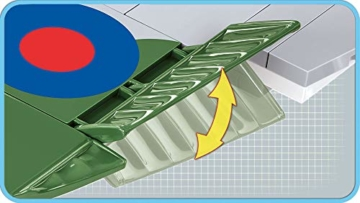 COBI Supermarine Spitfire ruder