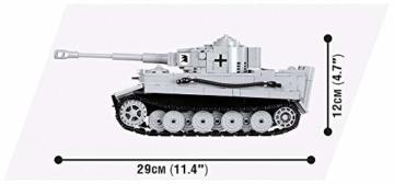 Cobi Tiger 1 maße