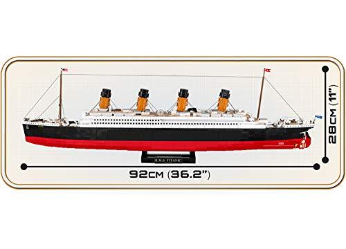 COBI Titanic 1916 maße
