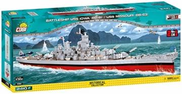 COBI USS Iowa 4812