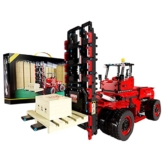 Happy Build 22012 Schwerlast Gabelstapler
