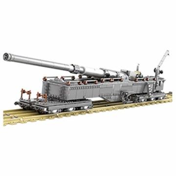 Kazi Dora Eisenbahngeschütz c modell
