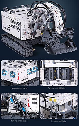 Mould King 13130. Technik Bagger Bausatz: 4062 Teile und Power Functions Set
