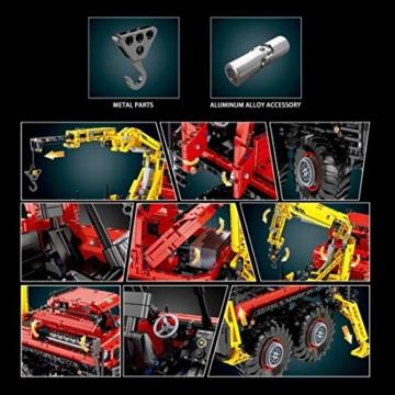keayo-technik-gelaendewagen-lkw-mould-king-13146-gross-ferngesteuert-holztransporter-truck-modell-mit-motors-3068-teile-klemmbausteine-bauset-kompatibel-mit-lego-technik-2