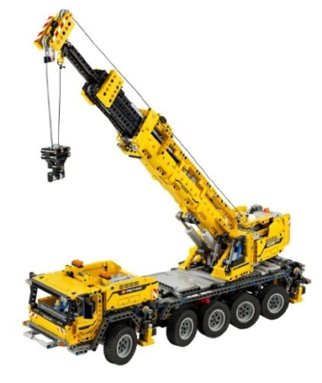 LEGO 42009 - Technic Mobiler Schwerlastkran höhe