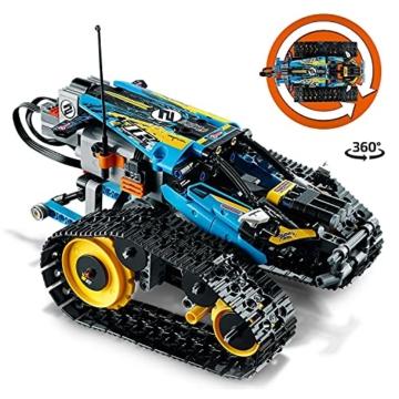 LEGO 42095 Technic Ferngesteuerter Stunt-Racer Spielzeug, 2-in-1-Rennwagen, Modell mit Motorfunktionen, Rennwagen-Kollektion - 2