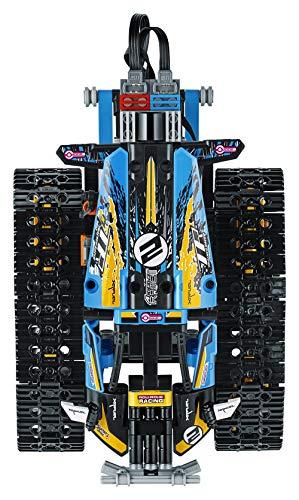 LEGO 42095 Technic Ferngesteuerter Stunt-Racer Spielzeug, 2-in-1-Rennwagen, Modell mit Motorfunktionen, Rennwagen-Kollektion - 11