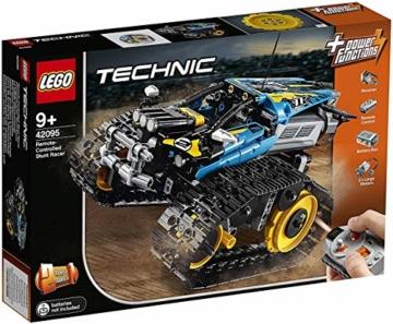 LEGO 42095 Technic Ferngesteuerter Stunt-Racer Spielzeug, 2-in-1-Rennwagen, Modell mit Motorfunktionen, Rennwagen-Kollektion - 12