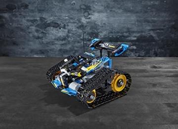 LEGO 42095 Technic Ferngesteuerter Stunt-Racer Spielzeug, 2-in-1-Rennwagen, Modell mit Motorfunktionen, Rennwagen-Kollektion - 16